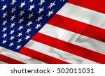 american flag | Shutterstock . vector #302011031