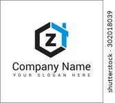modern and stylish logo design... | Shutterstock .eps vector #302018039