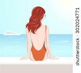 vector illustration of the... | Shutterstock .eps vector #302024771