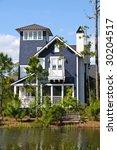 New Beach House - stock photo