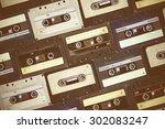 Audio Cassette. Retro...