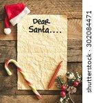 Letter For Santa With Santa...