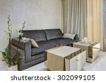 residential interior of modern... | Shutterstock . vector #302099105