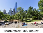 new york city   may 24  view of ...   Shutterstock . vector #302106329