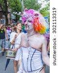 new york    june 28  ... | Shutterstock . vector #302113319
