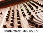 control audio panel.   Shutterstock . vector #302129777