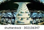 details of metal bridge  ... | Shutterstock . vector #302136347