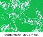 a close up shot of rumpled... | Shutterstock . vector #302174501