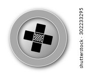 medical patch icon. internet... | Shutterstock . vector #302233295