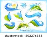 Water Splash Icons