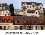 mountain streets of baden baden ... | Shutterstock . vector #30227704