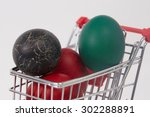 Easter Colorful Painted Eggs I...