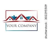 realty logo | Shutterstock .eps vector #302295509