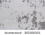 White Concrete Wall Grungy Wit...
