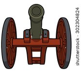 Civil War Cannon With View Fro...