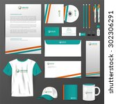business uniform  office... | Shutterstock .eps vector #302306291