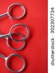 hair cutting shears   Shutterstock . vector #302307734