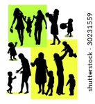 vector illustration of family | Shutterstock .eps vector #30231559
