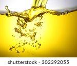 yellow drink background   Shutterstock . vector #302392055