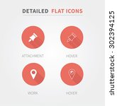 detailed and clean flat icons...