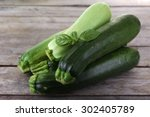 Fresh Zucchini With Squash And...