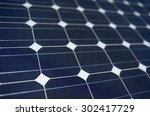 Texture Tilted Blue Solar Panels