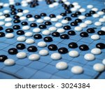 A Go Chinese Checker Game Board