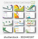 mega collection of postcard... | Shutterstock .eps vector #302440187