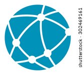 blue worldwide  business... | Shutterstock . vector #302469161