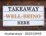 takeaway well being here...   Shutterstock . vector #302513945