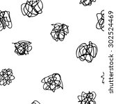 confusion seamless pattern....   Shutterstock .eps vector #302524469