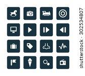 entertainment icons universal... | Shutterstock .eps vector #302534807