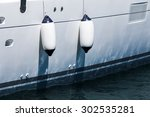 Small Ship Fenders Hanging...
