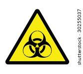 biohazard hazard sign | Shutterstock .eps vector #30255037