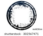 abstract grunge strokes  ... | Shutterstock .eps vector #302567471