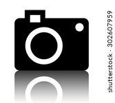 camera icon | Shutterstock . vector #302607959