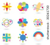 shape set atomic | Shutterstock . vector #30261730
