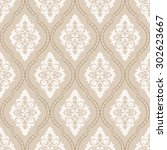 wallpaper in classic style.... | Shutterstock .eps vector #302623667