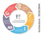 business infographics elements. ...   Shutterstock .eps vector #302623844