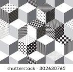 geometric pattern    Shutterstock .eps vector #302630765