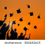 celebration education... | Shutterstock . vector #302642615