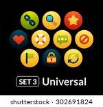 flat icons vector set 3  ...