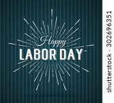 vector illustration labor day a ... | Shutterstock .eps vector #302696351