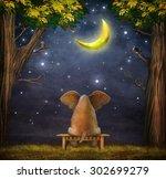 Illustration Of A Elephant On ...