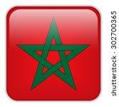 vector   morocco flag... | Shutterstock .eps vector #302700365