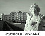 vienna    sphinx and belvedere... | Shutterstock . vector #30275215