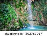 David's Waterfall At Ein Gedi...