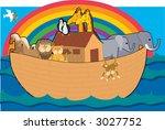noah's ark   Shutterstock .eps vector #3027752
