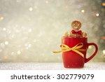 christmas cookies | Shutterstock . vector #302779079