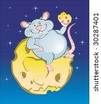 mouse | Shutterstock .eps vector #30287401